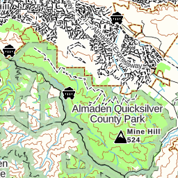 Almaden Quicksilver Park, Mcabee Creek Entrance